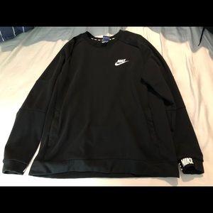 Black Nike Crewneck Sweater.